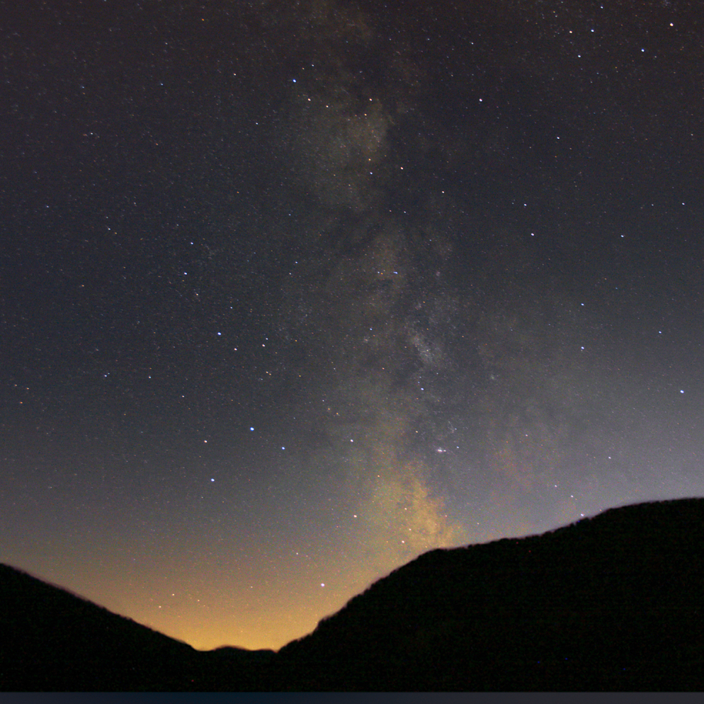 Milky Way over Haute Alpes 3