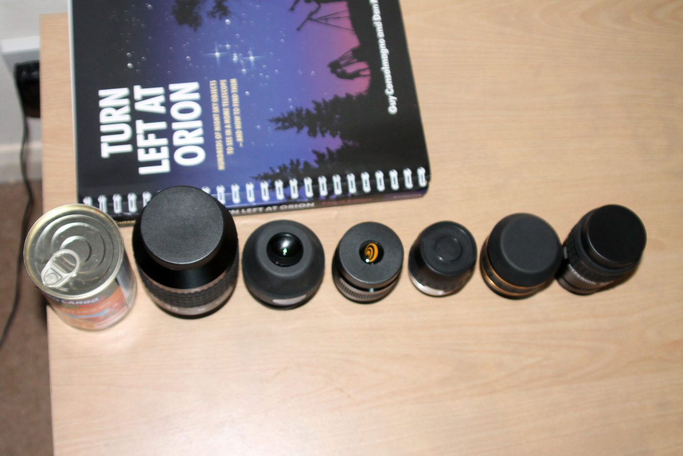 Wide-angle eyepiece collection