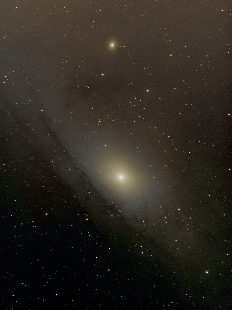 M31 version 2, guiding test