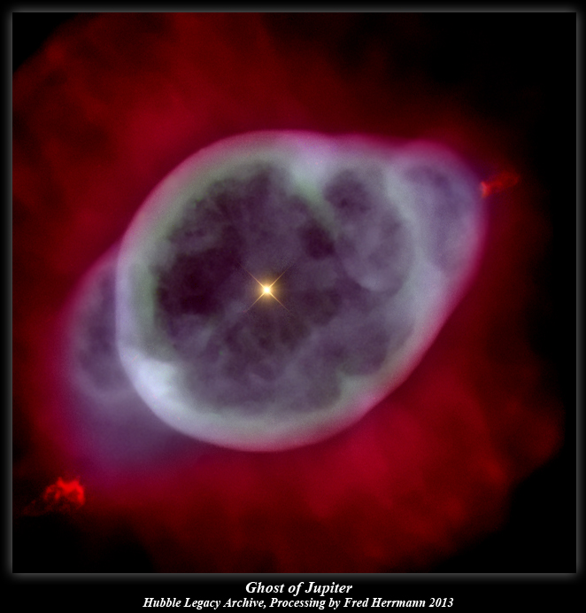 Ghost Of Jupiter Hubble Legacy