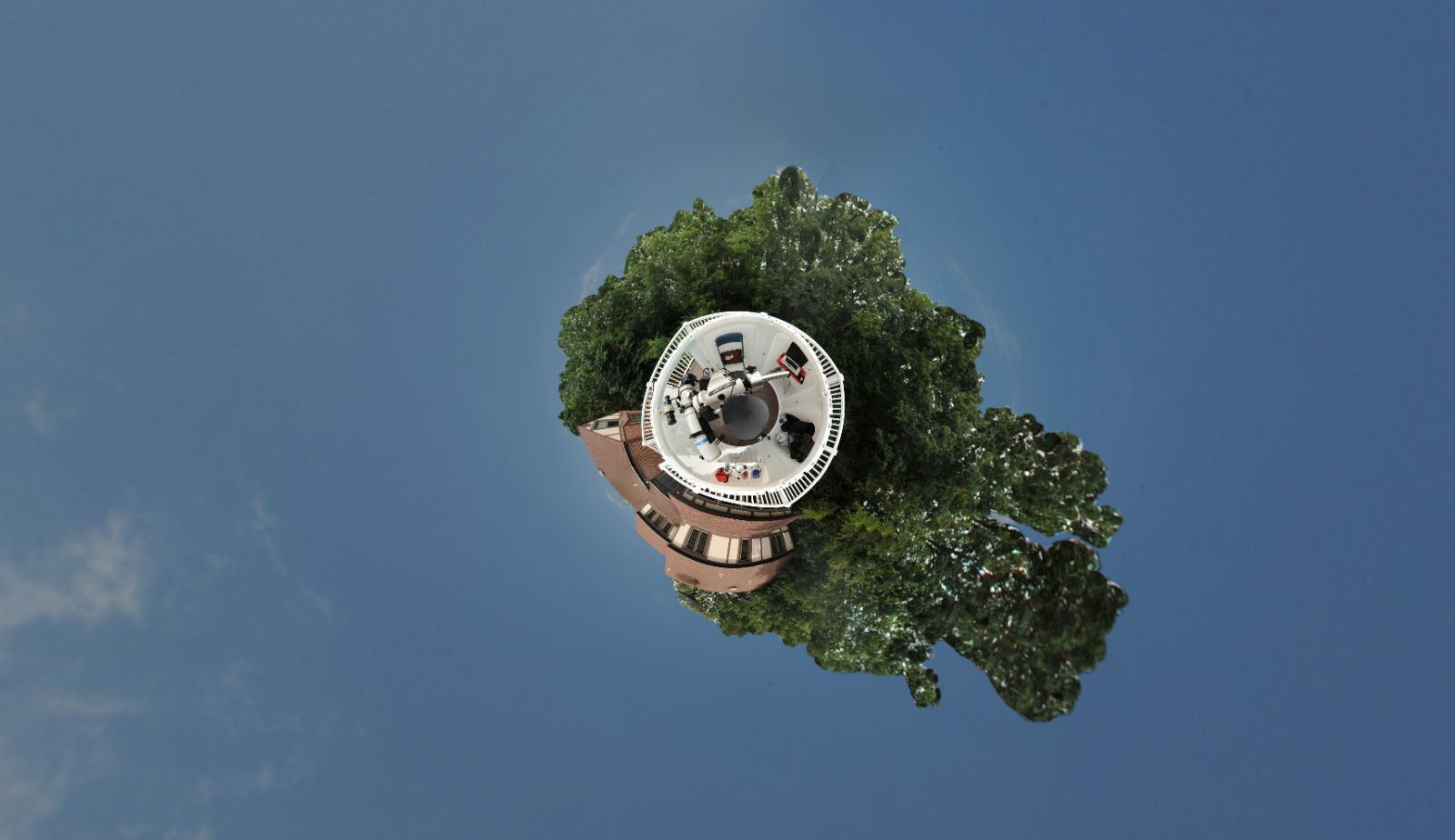 Owl Mountain Observatory Little Planet Rendition