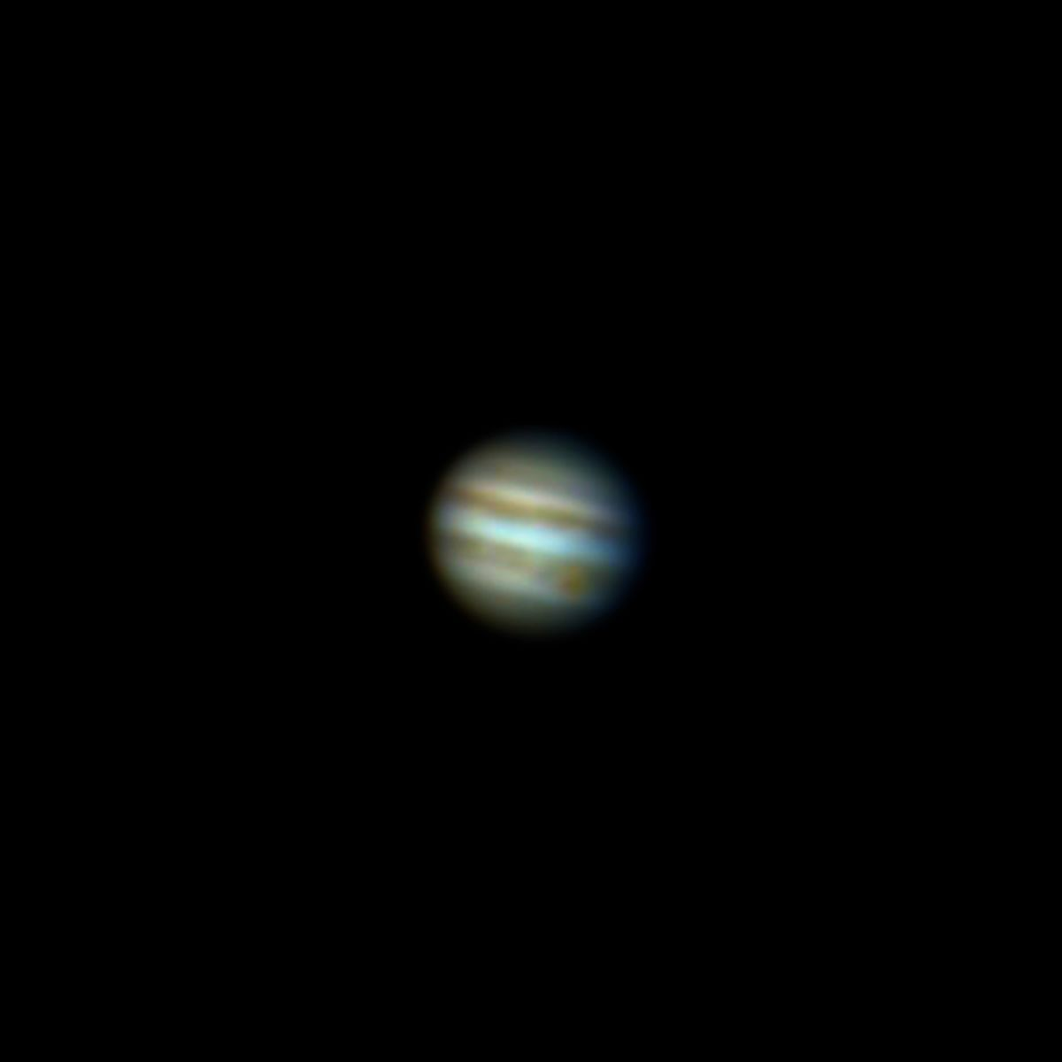 Jupiter 9 November AM Skywatcher 150PL and Philips Toucam