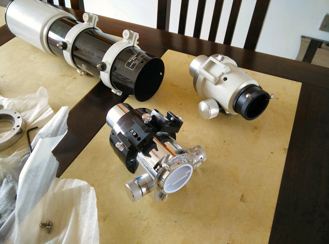 ED80 Swap Focuser