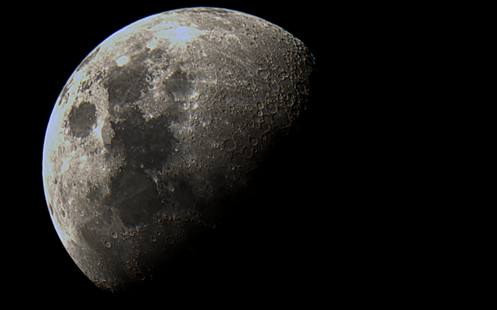Moon - Stacked Image