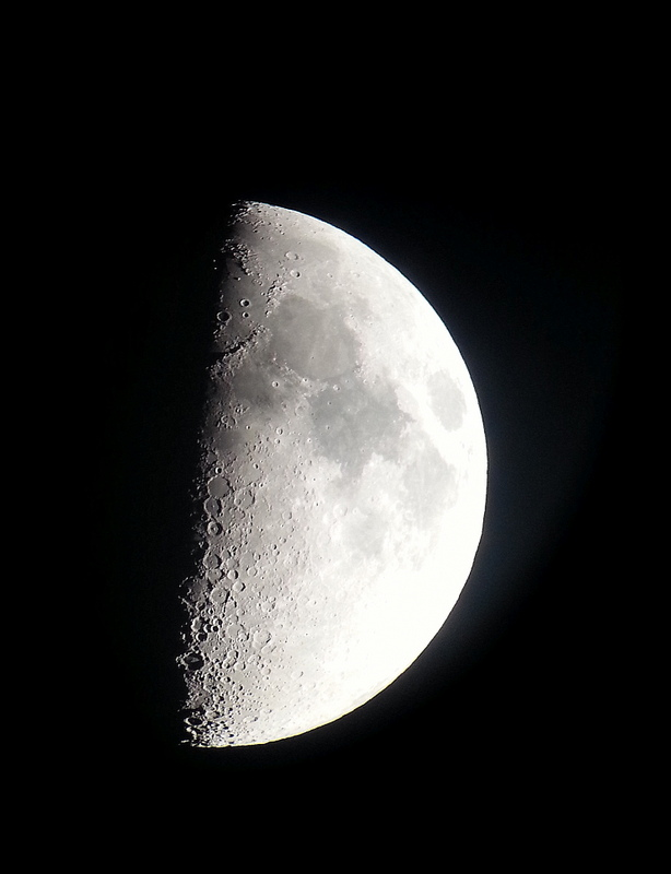 Picture of the moon taken with my phone!