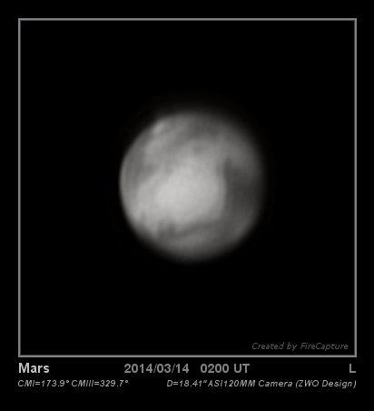 Mars 2014 March 13th Web