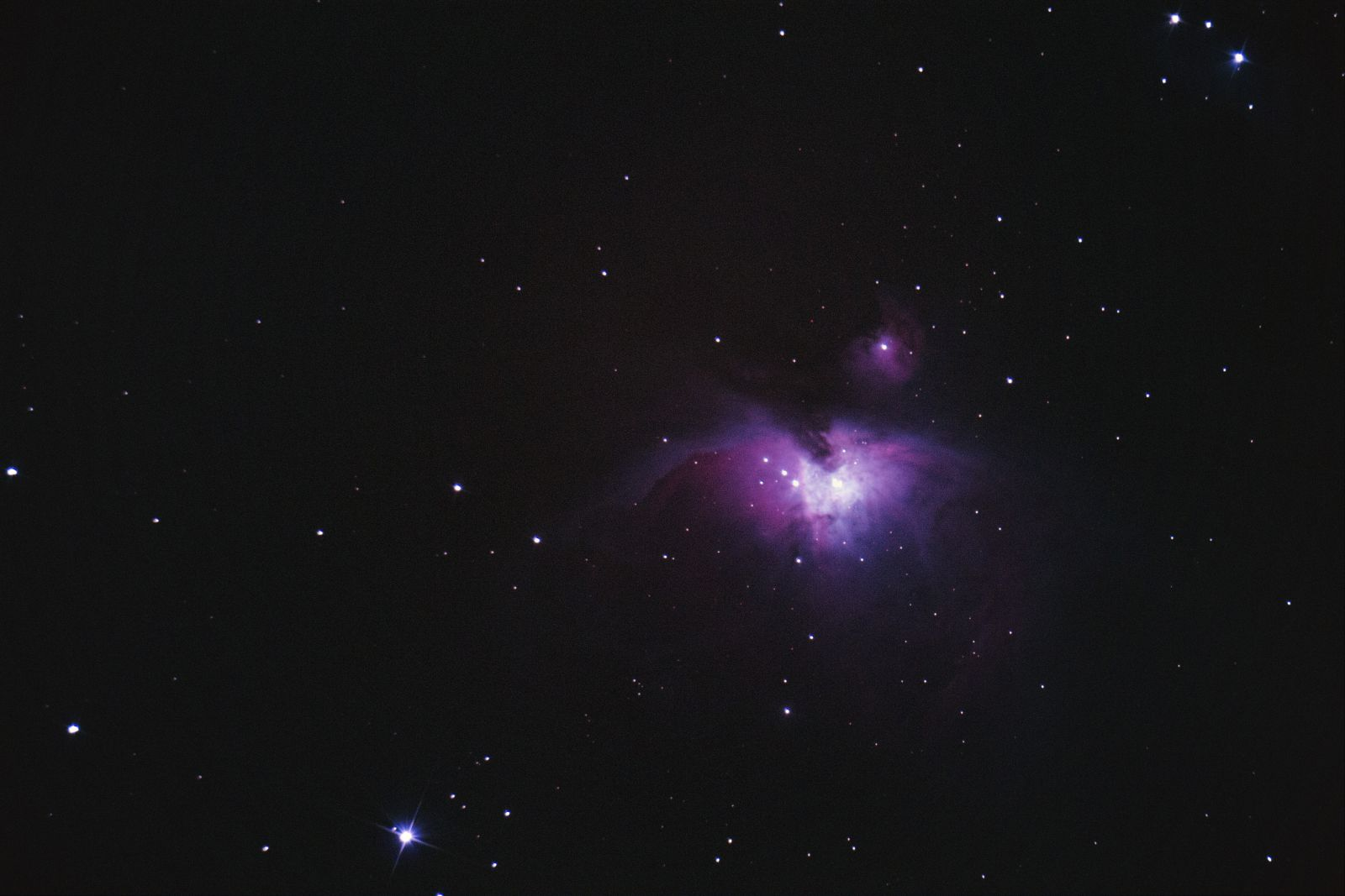 20140307 M42 Orion nebula - First Attempt at a DSO