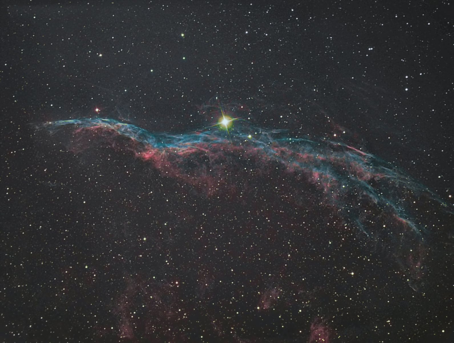 NGC 6960 the Witches broom