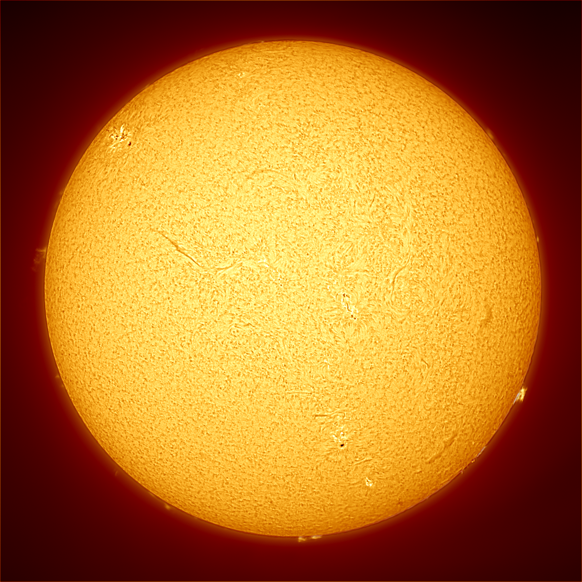 Solar Full Ha Disc 05/11/2014