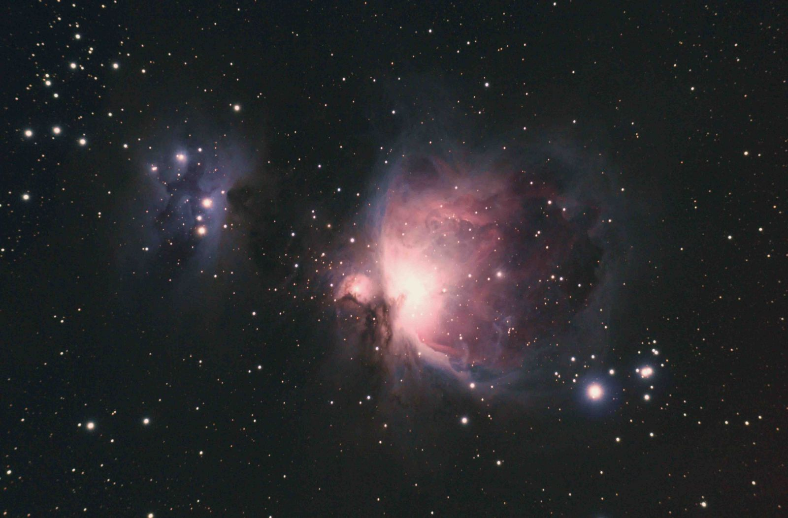 Orion and Running Man Nebula M42