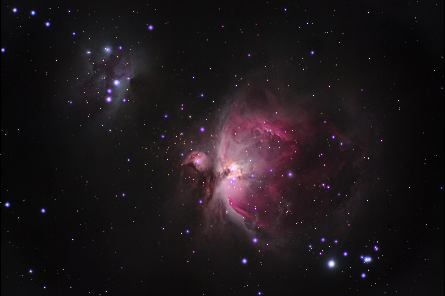 Orions Sword in RGB - November 2015