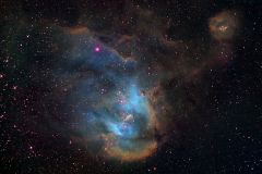 IC2944 In Hubble Palette Narrowband