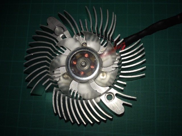 The fan (55mm hole spacing)
