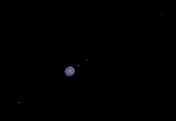 Ganymede Jupiter Io(with shadow) Europa And Calisto
