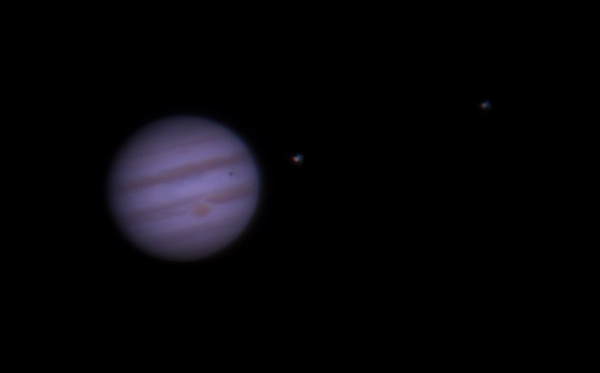 Jupiter with The shadow Of Io And Europa