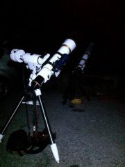 Setting up for the lunar eclipse 28.09.2915