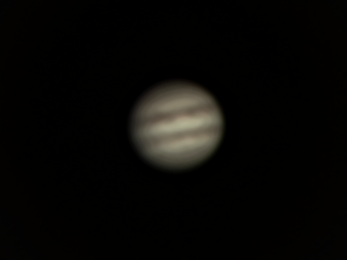 Jupiter Skywatcher Pro 150mm Logitech C100 webcam