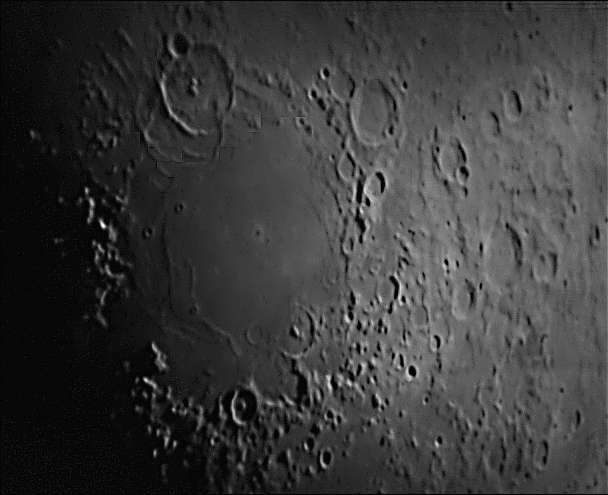 Lunar Skywatcher Pro 150mm and Xbox 360 Live Vision cam