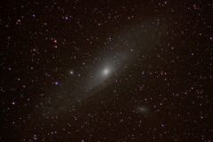 M31 The Andromeda Galaxy with M32 and M110 01.11.2015