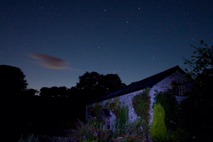 Ursa Major over holiday cottage