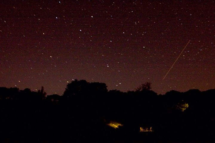 Ursa Major over Bodmin Moor