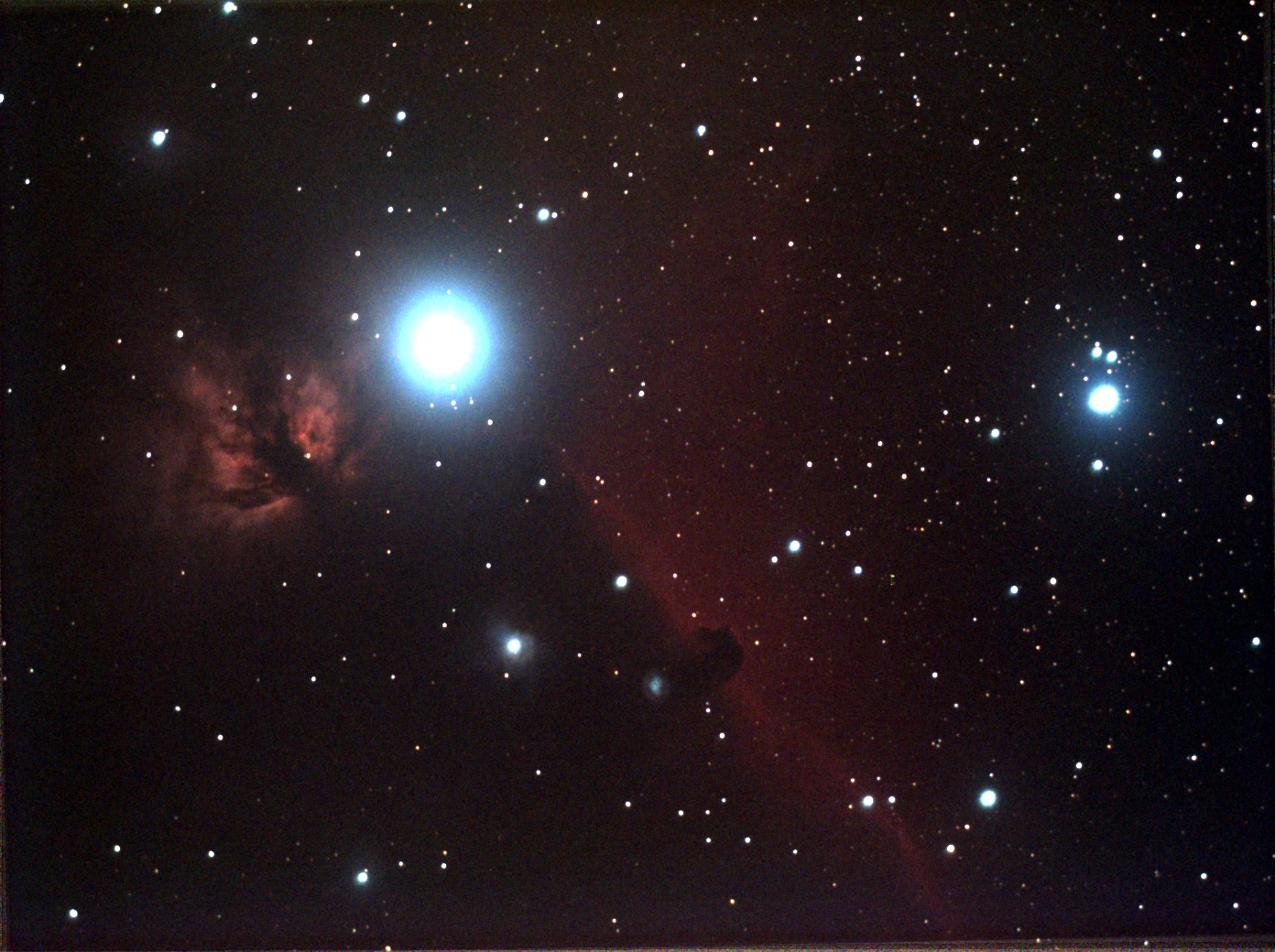 horsehead 12x60s f4.5 at72