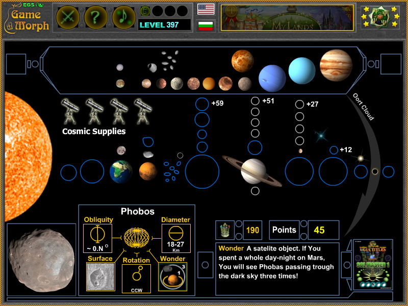 Astronomy Games