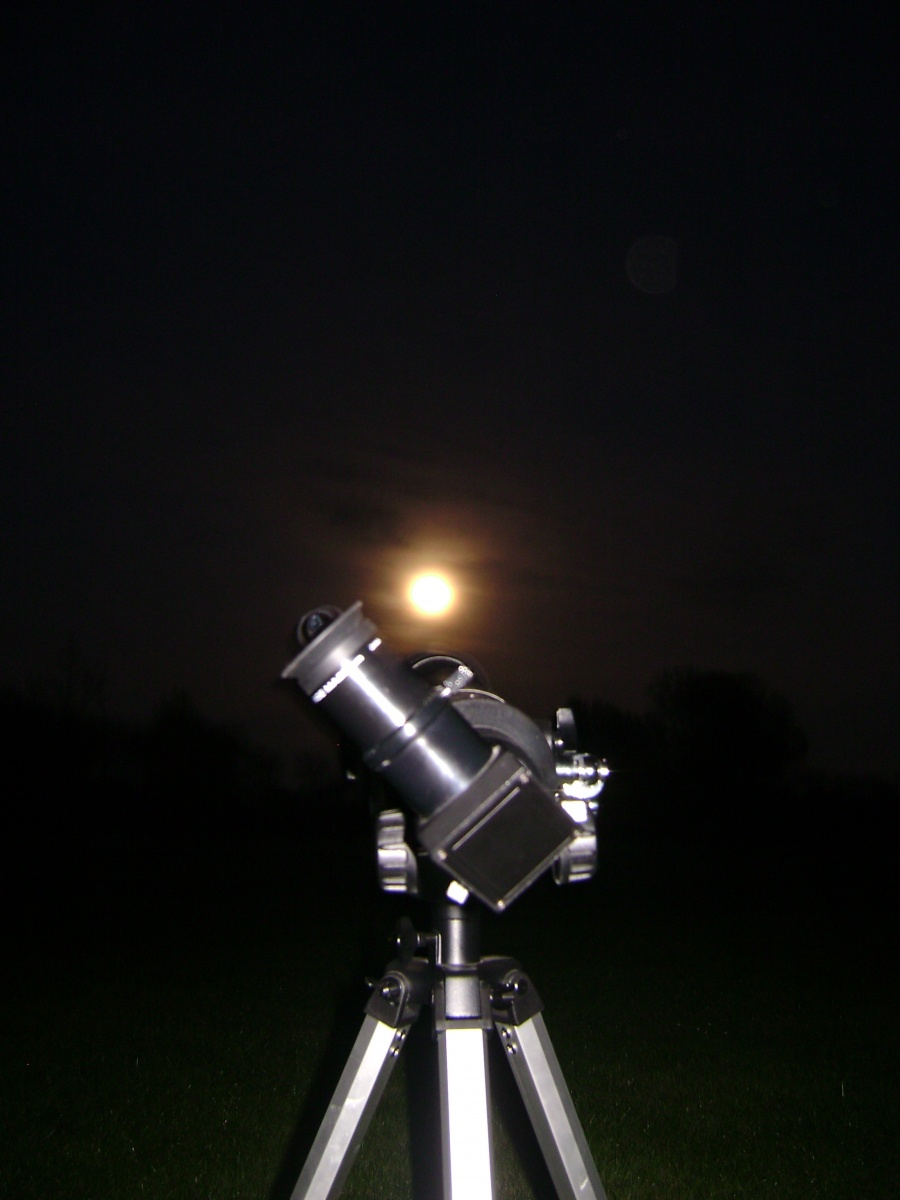 This was my first true night with my eye in the sky. Location:Billing aqua drome.
