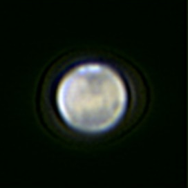 Mars at Opposition 29 Jan 2010