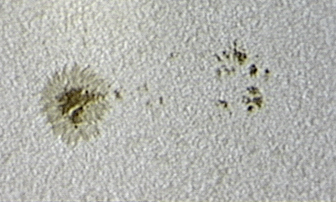 Sunspot 1072, 23 May 2010 13:43 UT 