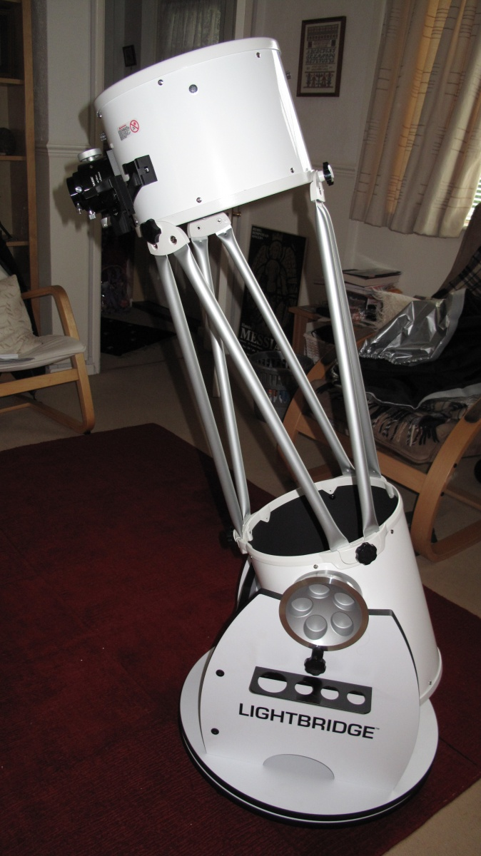 "Meade Lightbridge 10""."