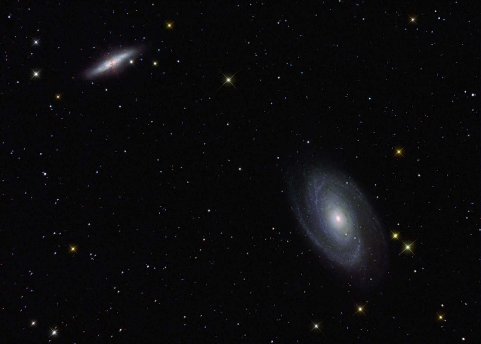 M81 82  new image for 2013