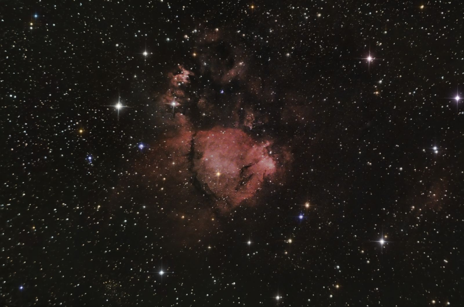 Heart Nebula region