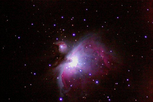 The Orion Nebula - M42  Meade LXD75 - Canon 300D Taken about 4 years ago