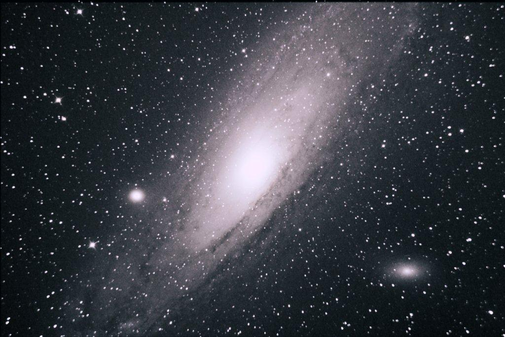 M31 - 9x60 secs - Auto colour in PS