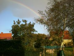Guess he has a pot of gold in his house - autumn 2011