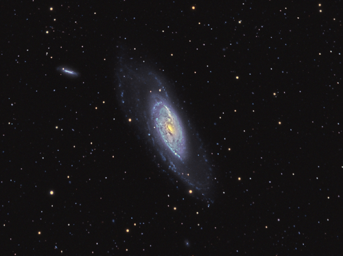 M106 with synthetic green channel