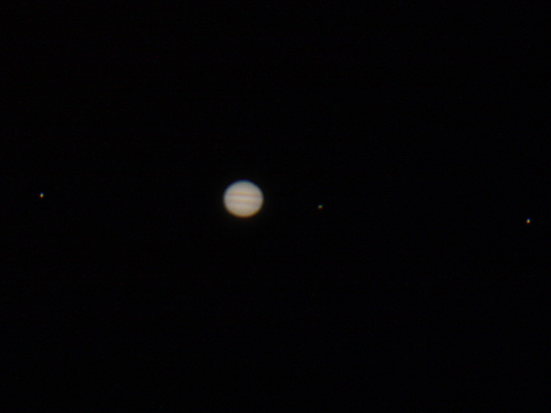 Finally Jupiter - this sort of crept in while I was uploading!!