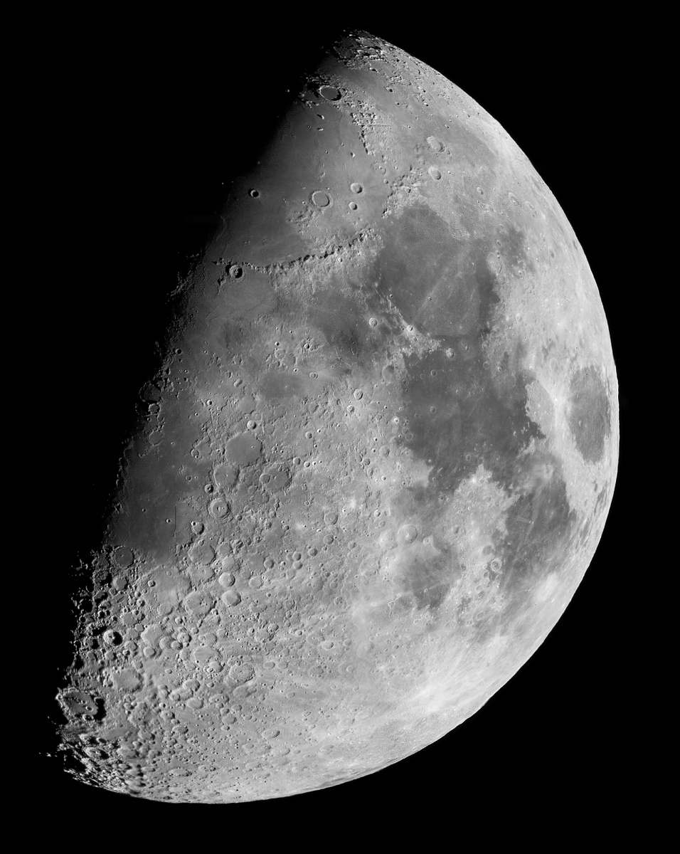 Moon 6 12 08 Meade 125ETX with Canon 450D - a composite of approx 40 images
