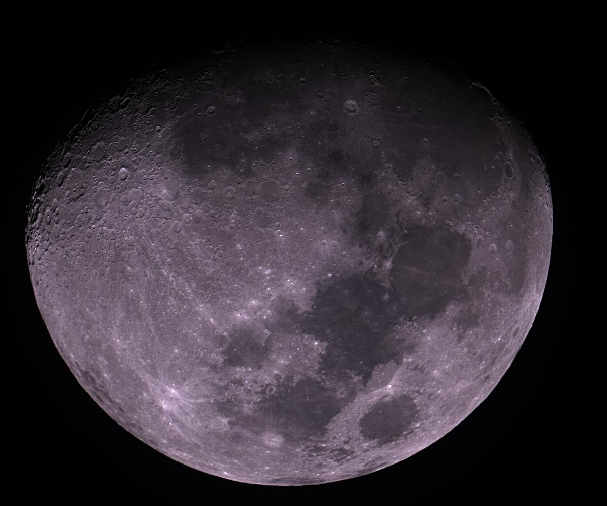 """moon with 30D DSLR on 12""""F5, processed in IRIS; resampled to fit album size limit, for full res see:  http://dl.dropbox.com/u/44641599/moon001.jpg"""