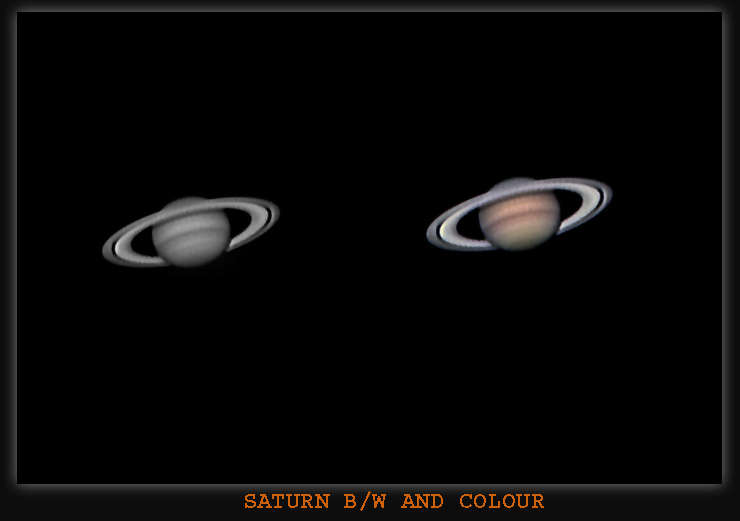Saturn Taken with the DMK ccd Camera