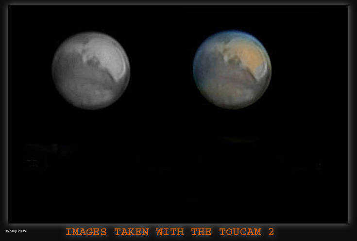 MARS iMAGES WITH THE TOUCAN PRO2