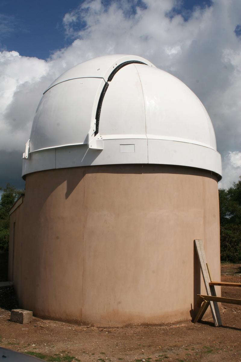 """Norman Lockyer Observatory Astro Fair 2011: new home for 20"""" newtonian"""