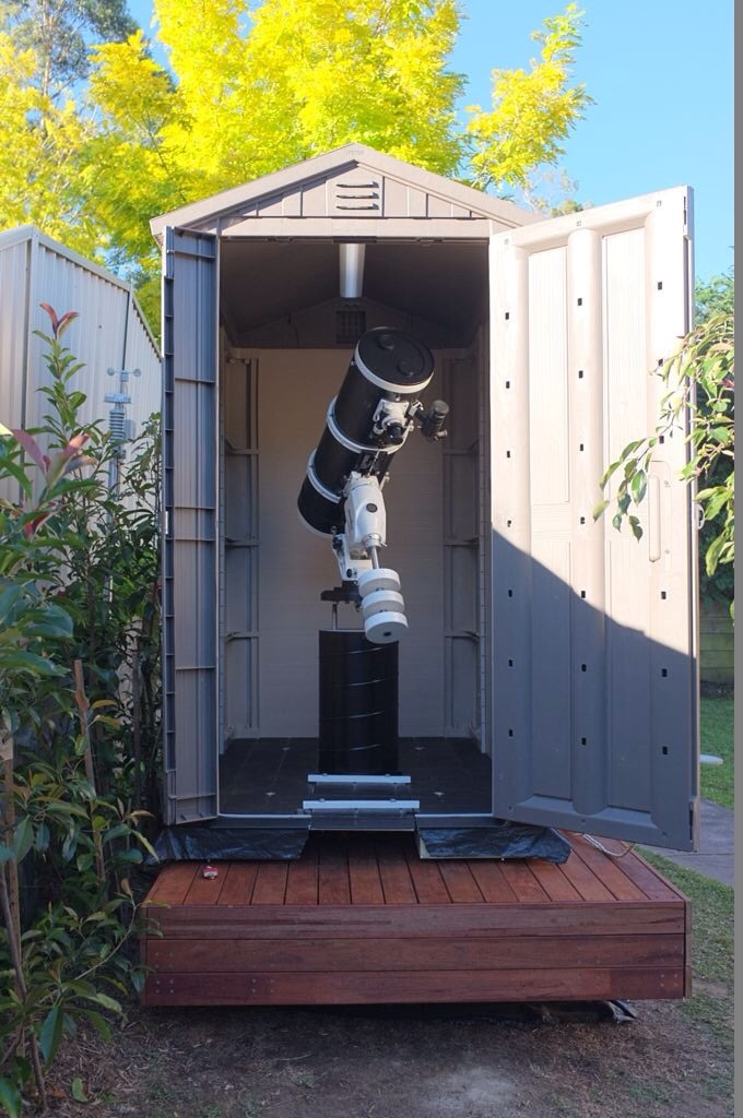 Mike S Roll Away Shed Observatory Diy Observatories