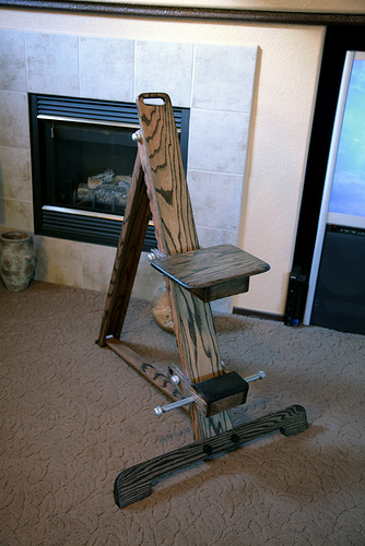 Diy Folding Observing Chair W Plans Members Equipment