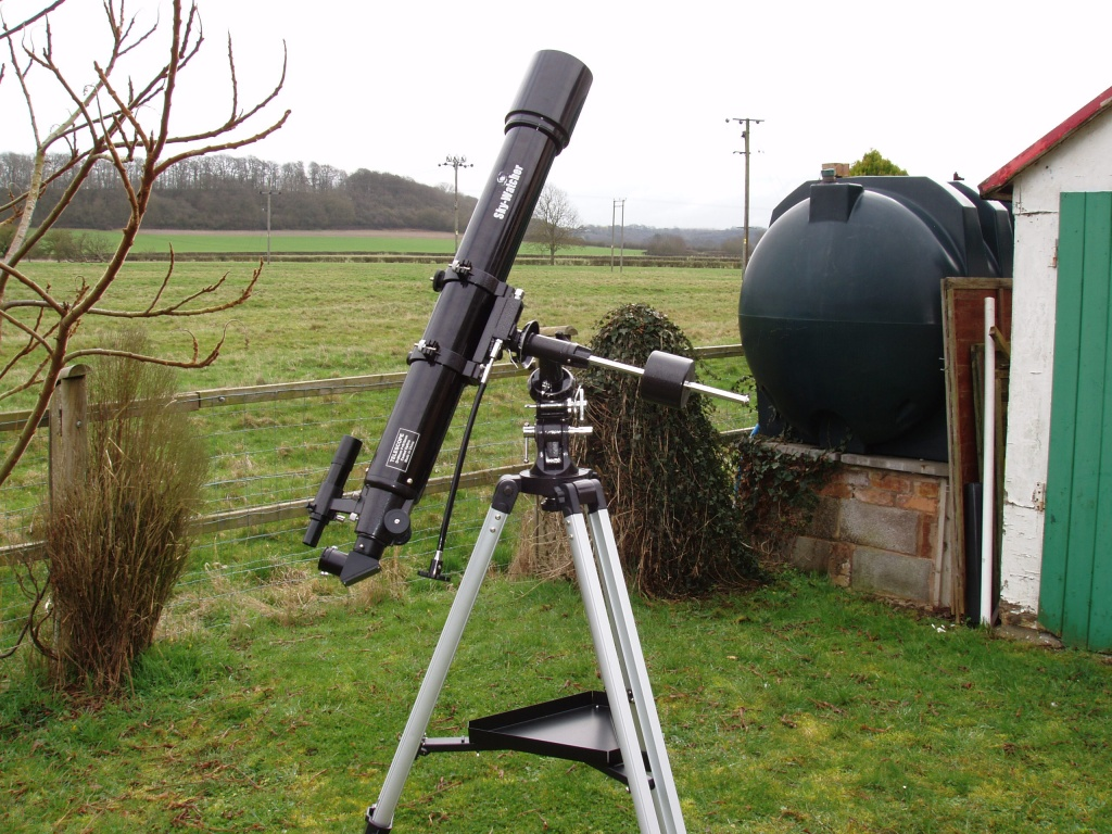 Skywatcher Heritage-90 Virtuoso review - YouTube