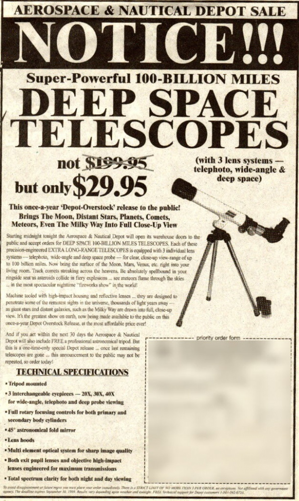 Image result for reneke, choosing telescope