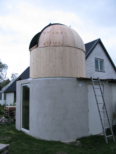 Building observatory with dome in southern Sweden - DIY ...