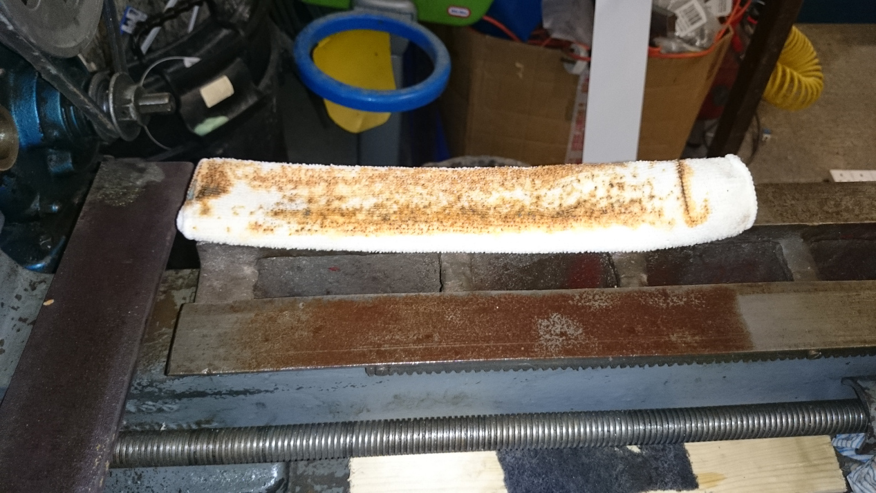 Rust cleaning by reverse electrolysis - DIY Astronomer