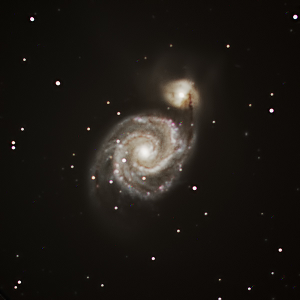 M51 Using Lx90 8 Quot On An Heq5 Imaging Deep Sky
